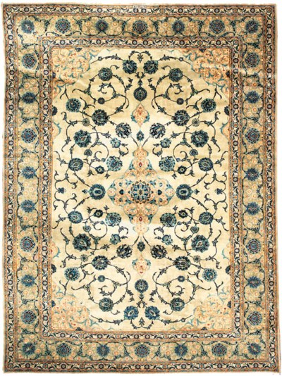 Fine Kashan carpet, Central Pe
