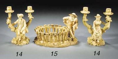 A Royal Worcester blush-ivory-