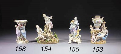 A Meissen figure of a classica