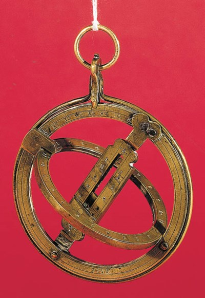 An early 18th-Century brass eq