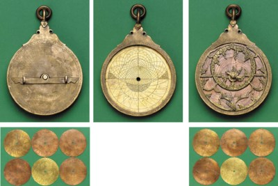 A late Iranian astrolabe in th