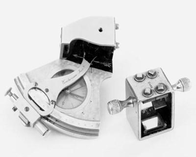 A rare nickel-brass surveying