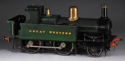 A 5in. gauge model of a GWR sm