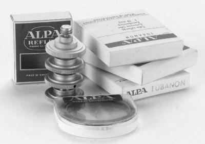 Alpa filters and small accesso