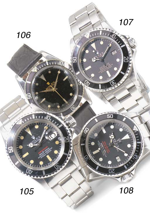 A DIVER'S STAINLESS STEEL AUTO