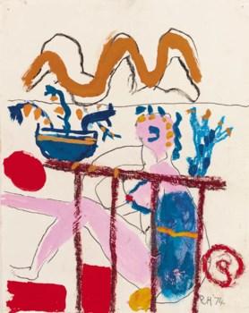 Roger Hilton (1911-1975) , Untitled | Christies