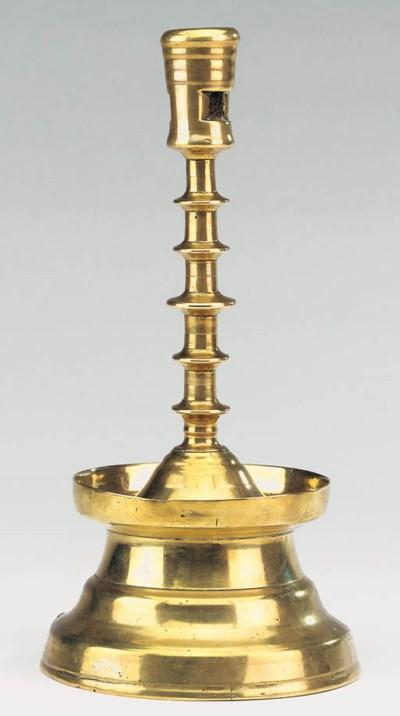 A North West European brass ca