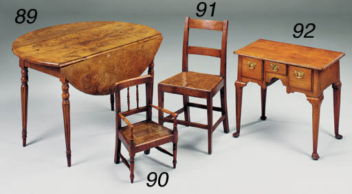 A PAIR OF YEW-WOOD AND BURR EL