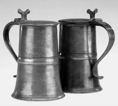 A pair of Scottish lavers, cir