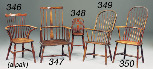 A pair of ash, elm and beech W