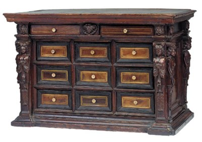 A Continental table cabinet, p