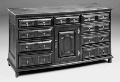 An oak dresser, English, early