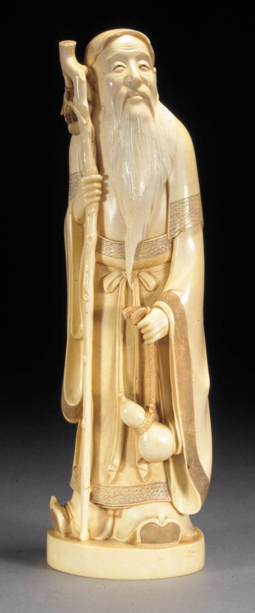 An ivory model of an Immortal