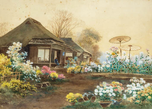A Japanese watercolour Early 2