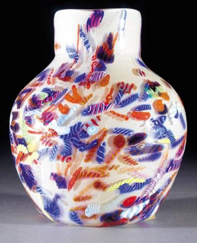 A Monart shouldered vase