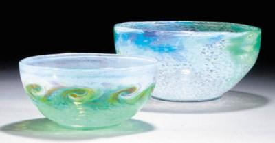 A Monart bowl