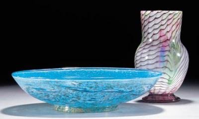 A Monart 'Paisley Shawl' bowl