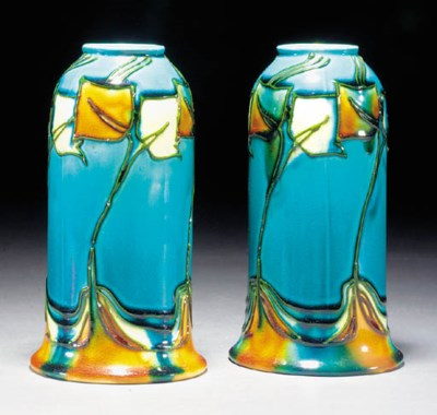 A Minton Secessionist pair of