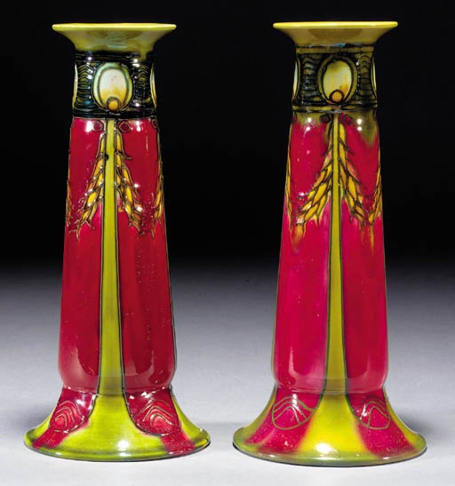 A pair of Minton Secessionist