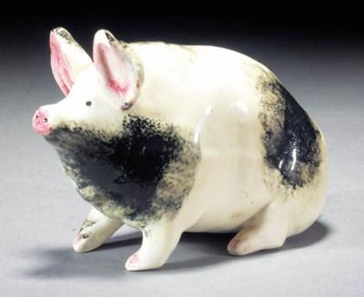 A Wemyss pig