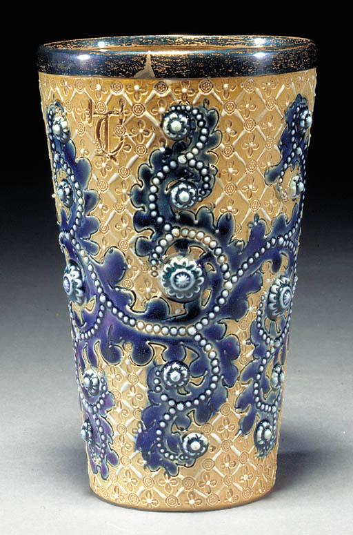 A Doulton Lambeth stoneware be