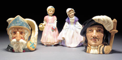 A collection of Royal Doulton