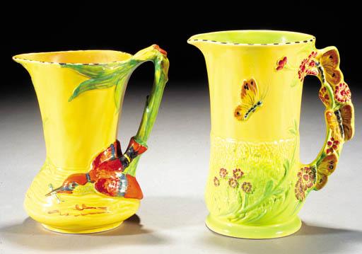 Seven Burleigh Ware jugs