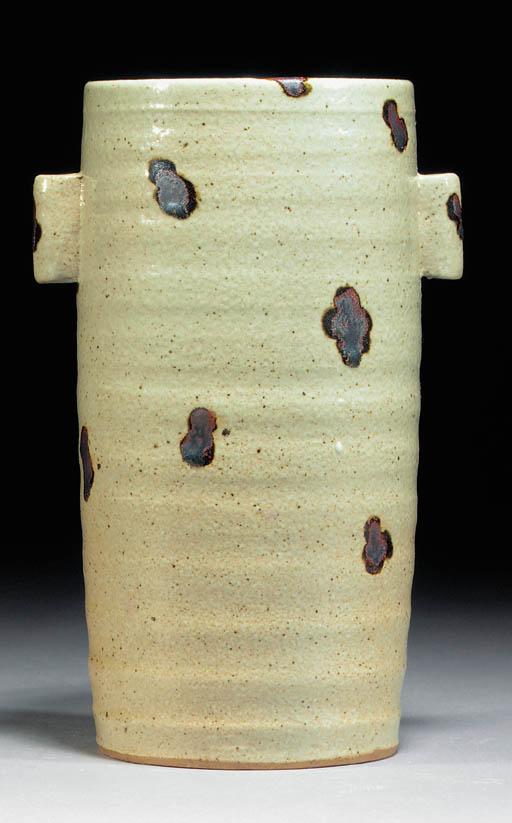 A Charles Vyse stoneware cylin