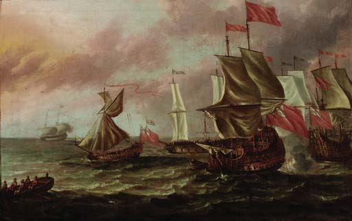 Follower of Willem van de Velde II