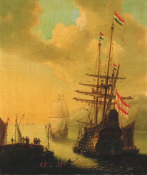 Follower of Willem van de Velde II (1677-1708)
