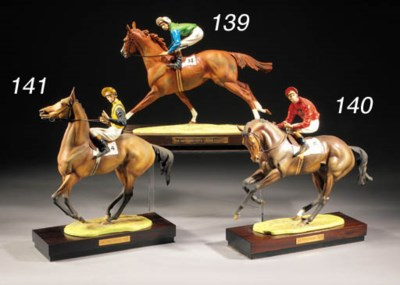 A Royal Worcester model of 'At