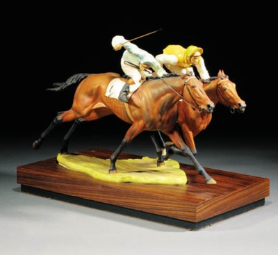 A Royal Worcester model of 'By