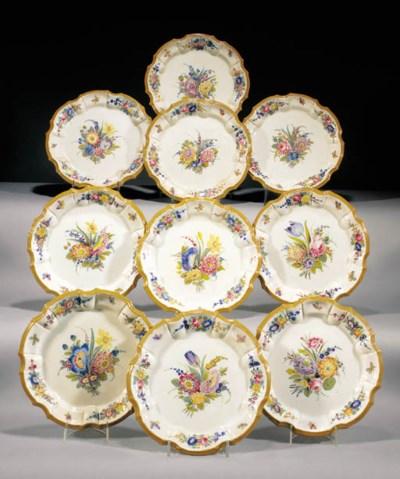 Twelve Nove plates
