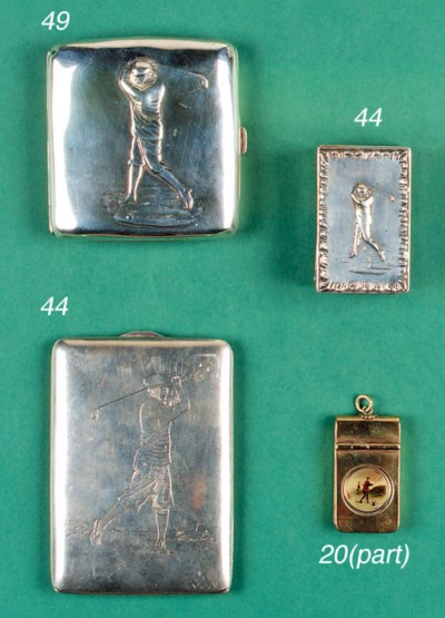 A LATE VICTORIAN SILVER MATCHB