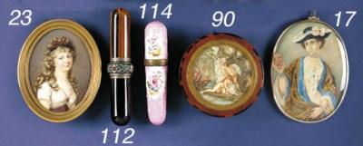 A gilt-metal mounted enamel bo
