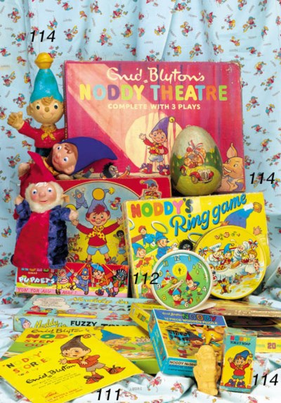 Noddy Games and Books