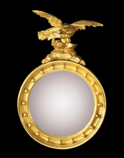A small Regency circular giltw