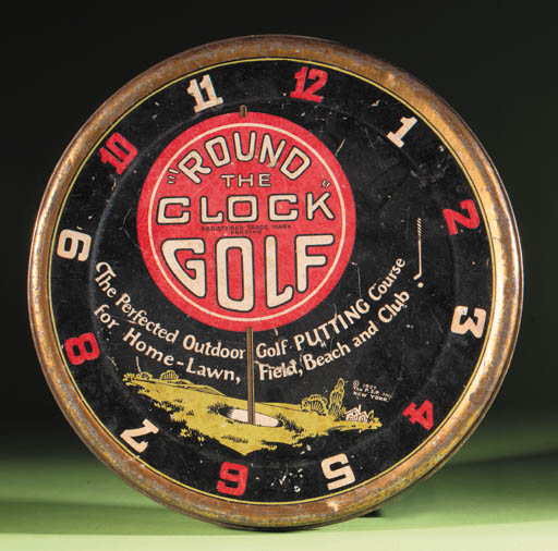 A ROUND THE CLOCK GOLF GAME