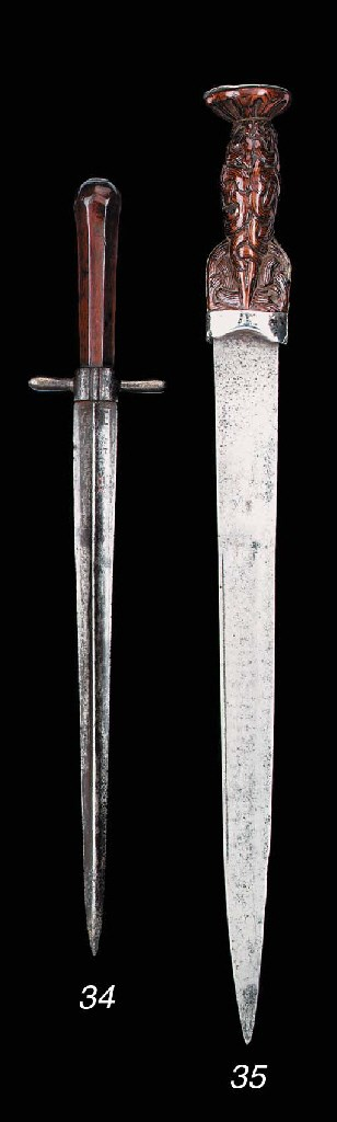 A Silver-Mounted Highland Dirk