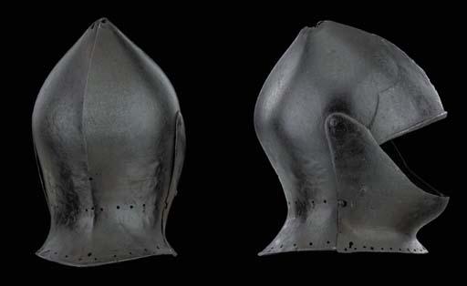 A Rare Sallet/Close-Helmet