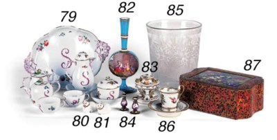 An English porcelain mounted j
