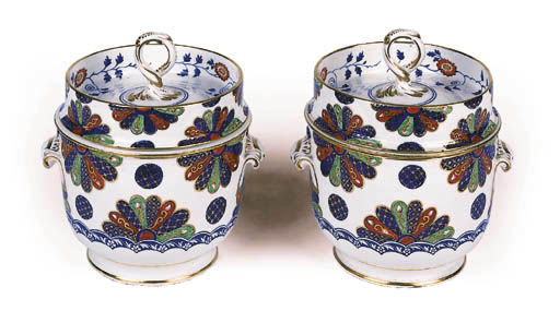 A pair of Derby japan pattern