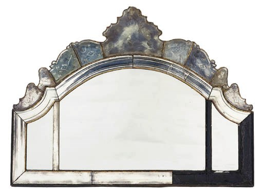 A shaped arched triple-plate m