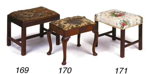 A George III mahogany rectangu