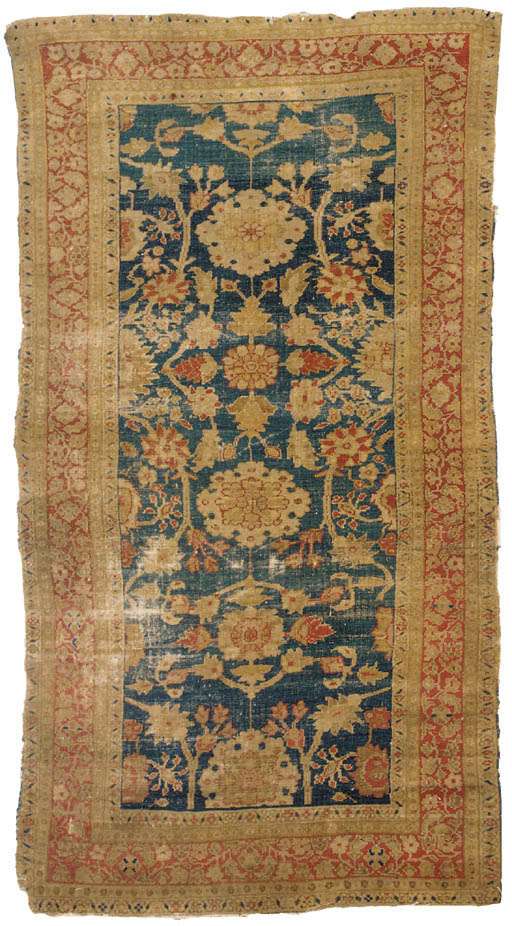 An antique Ziegler large rug,