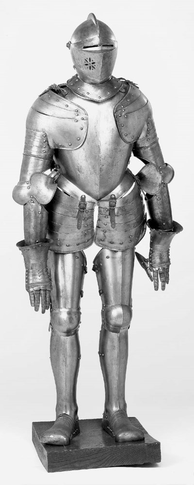 A Full Armour In 16th-Century