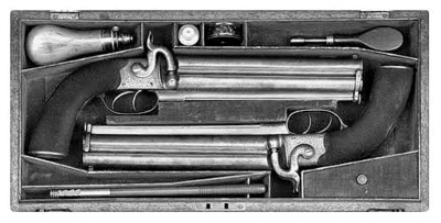 A Cased Pair Of .577 Over-And-