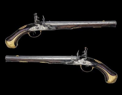 A Fine Pair Of 25-Bore Bohemia
