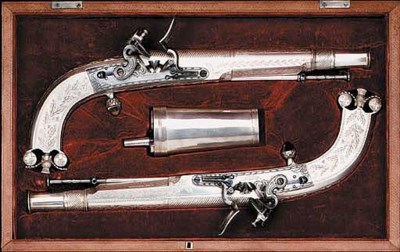 A Fine Cased Pair Of 20-Bore F