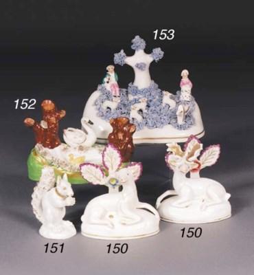 A Staffordshire porcelain spil